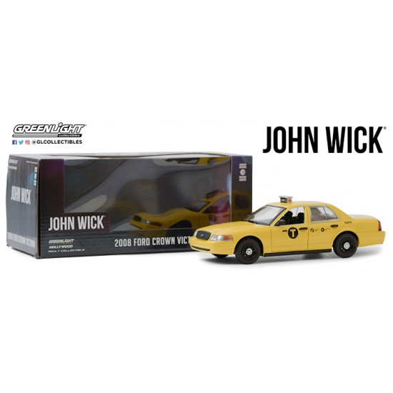 1/24 JOHN WICK/ CHAPTER 2 (2017) - 2008 FORD CROWN VICTORIA