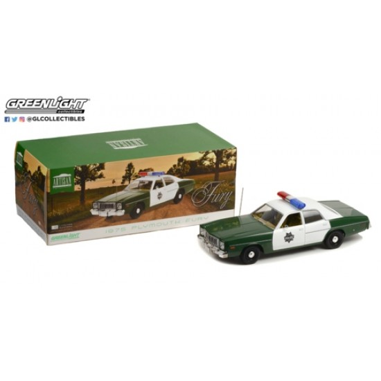 1/18 ARTISAN COLLECTION 1975 PLYMOUTH FURY CAPITOL CITY POLICE