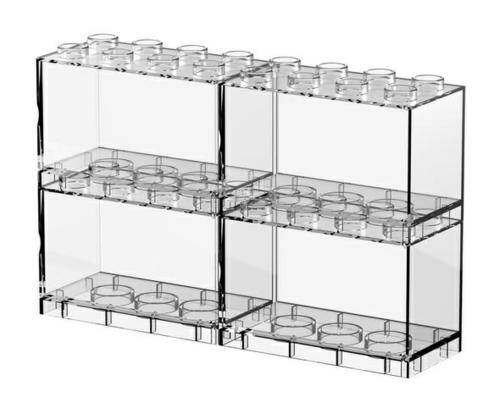 T-BRICK 10 (4-IN-1)  DIMENSIONS 100mm (W) X 50mm (L) X 67.2m)m (H) - Internal Dimension (mm) 92(W) x 44(L) x 50(H)