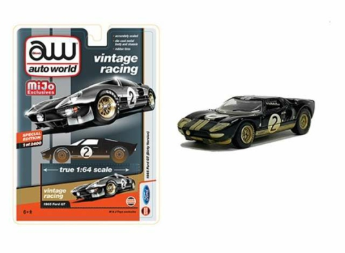 1/64 FORD GT40 1965 NO.2 DIRTY RACE VERSION
