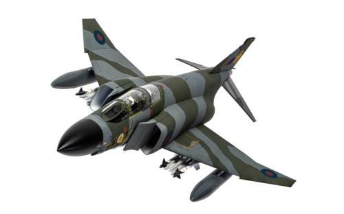 1/48 MCDONNELL DOUGLAS PHANTOM FG.1 XV592/L, RAF NO.111 SQUADRON, LEUCHARS, FIFE, SCOTLAND, LATE 1970S
