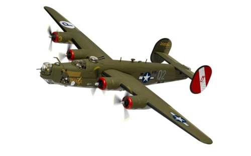 1/72 CONSOLIDATED B-24H LIBERATOR  'WITCHCRAFT' 130 MISSIONS