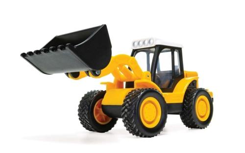 CHUNKIES LOADER TRACTOR FARM (YELLOW)