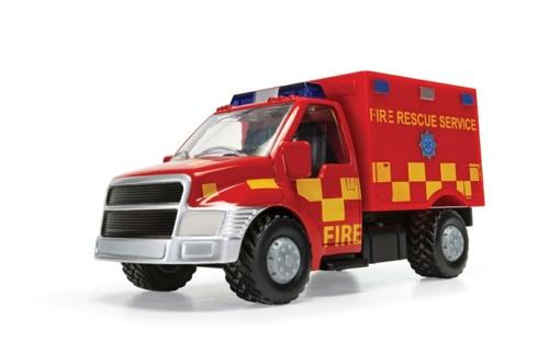 CHUNKIES RESCUE UNIT FIRE TRUCK U.K.