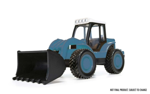 CHUNKIES LOADER TRACTOR FARM (BLUE)