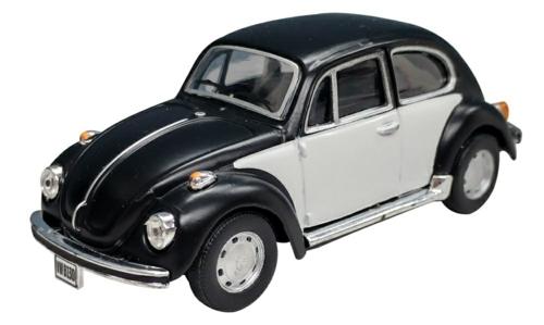 1/43 VW BEETLE BLACK/WHITE