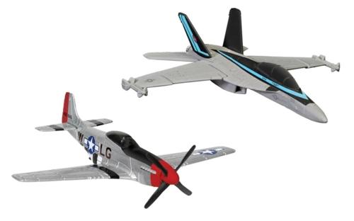 MAVERICK'S F/A-18 HORNET AND P-51D MUSTANG HORNET AND P-51D MUSTANG (TOP GUN MAVERICK, 2020)