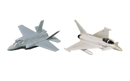 DEFENCE OF THE REALM COLLECTION (F-35 AND EUROFIGHTER TYPHOON)