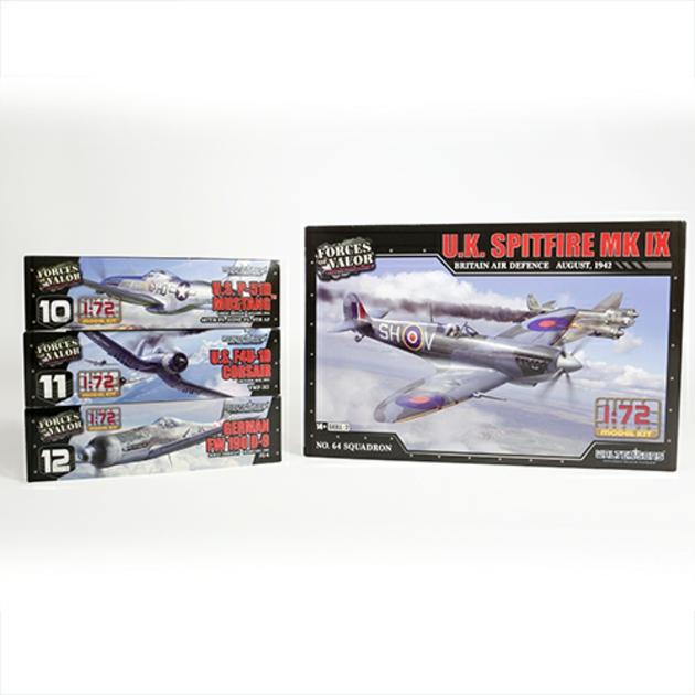 1/72 SPITFIRE MK IX RAF 1942 (PLASTIC KIT)