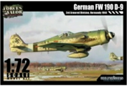 1/72 FW 190 D-9 - GERMANY 1945 (PLASTIC KIT)