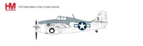 1/48 GRUMMAN F4F-4 WILDCAT 46685 VC-12 USS CORE 1944