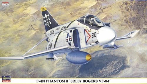 1/72 F-4N PHANTOM II JOLLY ROGERS VF-84 (PLASTIC KIT)