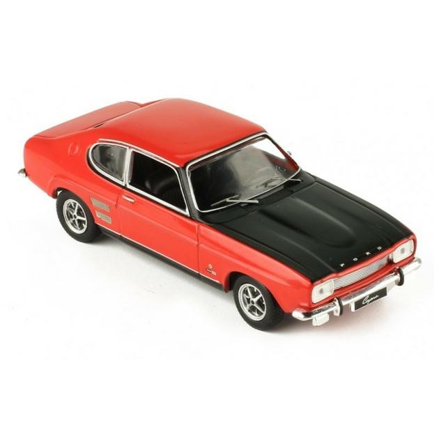 1/43 FORD CAPRI MKI 1700 GT RED/BLACK
