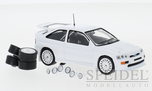 1/43 FORD ESCORT RS COSWORTH PLAIN WHITE BODY WITH SPARES