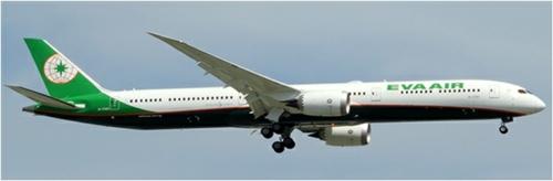 1/200 EVA AIR BOEING 787-10 REG: B-17801
