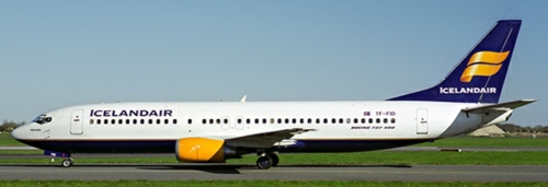 1/400 ICELAND AIR BOEING 737-400 REG: TF-FID WITH ANTENNA