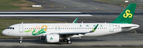 1/400 SPRING AIRLINES AIRBUS A320NEO (100TH FOR SPRING AIRLI