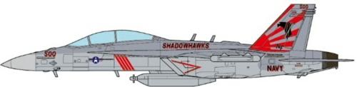 1/72 EA-18G GROWLER VAQ-141 SHADOWHAWKS USS RONALD REAGAN 17
