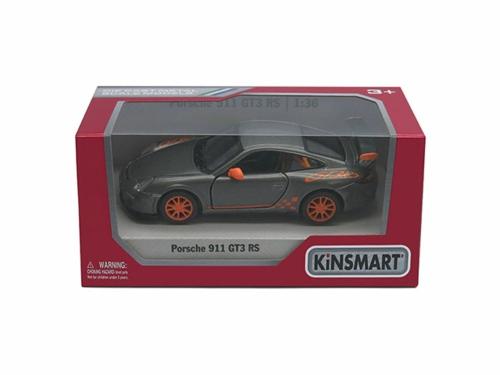 1/36 2010 PORSCHE GT3 RS, BLACK/ORANGE