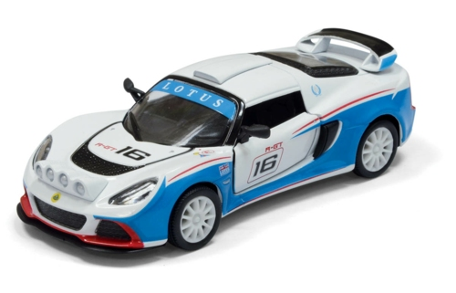 1/32 2012 LOTUS EXIGE R-GT NO.16, WHITE/BLUE