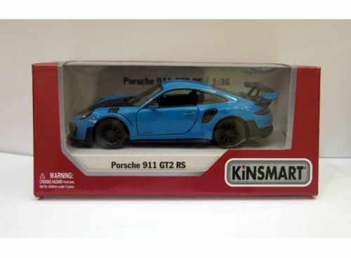 1/36 2017 PORSCHE 911 RS GT2 (991), BLUE