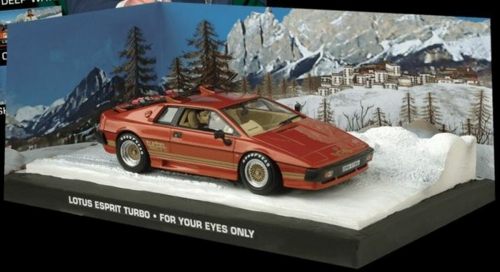1/43 LOTUS ESPRIT TURBO-BOND-FOR YOUR EYES ONLY -BRONZE