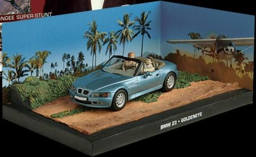1/43 BMW Z3 - BOND - GOLDENEYE