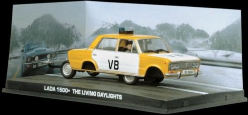 1/43 LADA 1500 POLICE CAR-BOND-THE LIVING DAYLIGHTS