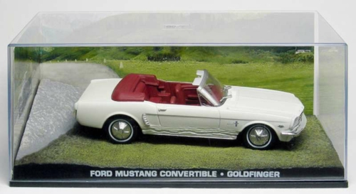 1/43 FORD MUSTANG CONVERTIBLE - GOLDFINGER
