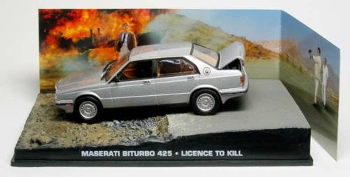 1/43 MASERATI BITURBO 1986 - LICENCE TO KILL