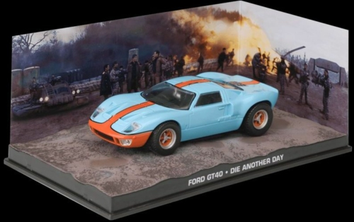 1/43 FORD GT40 - BOND - DIE ANOTHER DAY