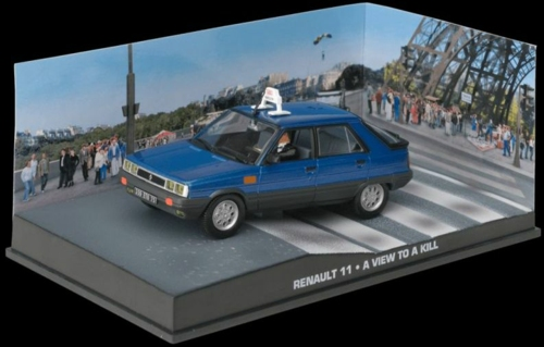 1/43 RENAULT 11 - BOND - A VIEW TO A KILL
