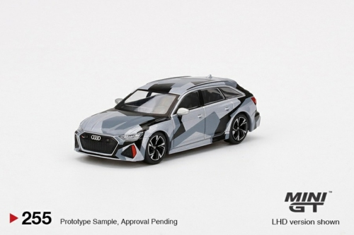 1/64 AUDI RS 6 AVANT SILVER DIGITAL CAMOUFLAGE CHINA EXCLUSIVE CLDC EDITION (LHD)