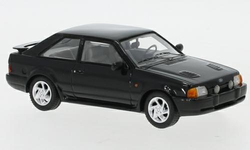 1/43 FORD ESCORT MK4 RS TURBO BLACK 1986