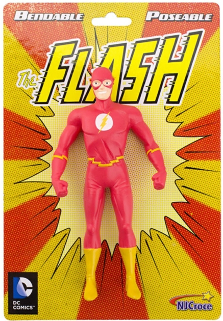THE FLASH NEW FRONTIER 5.5 INCH BENDABLE FIGURE (5.5 INCH RETRO PACKAGING)