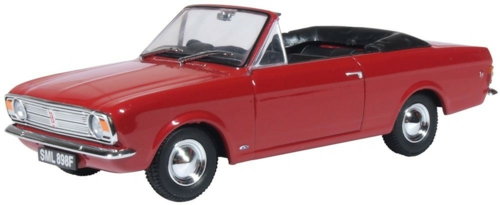 1/43 FORD CORTINA CRAYFORD OPEN DRAGOON RED