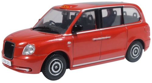 1/43 TUPELO RED LEVC TX TAXI