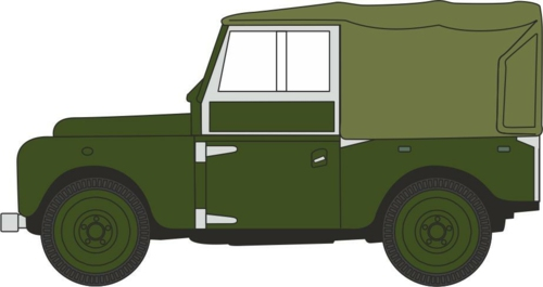 1/76 BRONZE GREEN (PLIMSOLL) LAND ROVER SERIES I 88