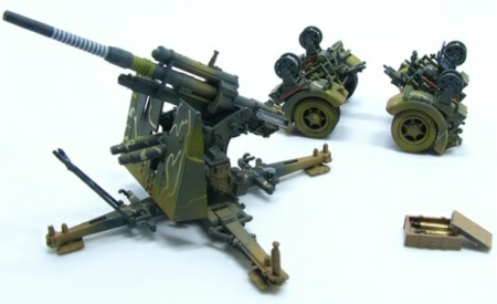 1/72 GERMAN 88MM FLAK 36 CAMO 1942