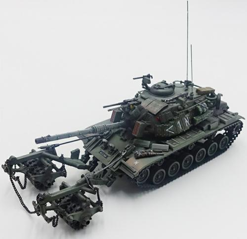 1/72 IDF M60A1 BLAZER WITH KMT-4 MINE ROLLER 1982 LEBANON