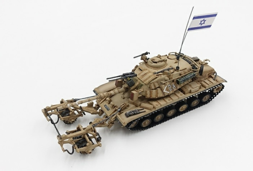 1/72 IDF M60A1 BLAZER WITH KMT-4 MINE ROLLER MID EAST WARS