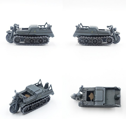 1/72 GERMAN RECON COMPANY WEHRMACHT PANZER DIVISION 2ND 1949