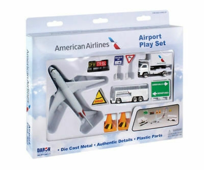 AMERICAN AIRLINES AIRPORT PLAYSET NEW LIVERY