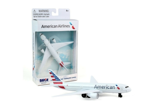 AMERICAN AIRLINES DIECAST PLANE NEW LIVERY