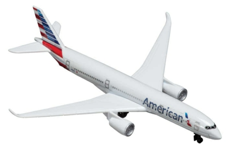 AMERICAN AIRLINES A350 DIECAST PLANE