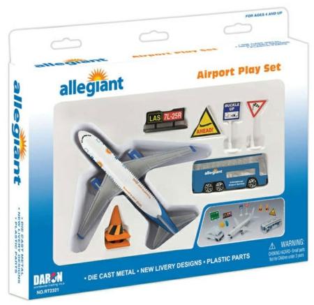 ALLEGIANT AIRLINES PLAYSET