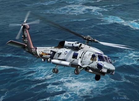 1/100 SH-60 NAVY HELICOPTER (PLASTIC KIT)