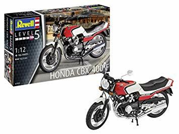 1/12 HONDA CBX 400 F (PLASTIC KIT)