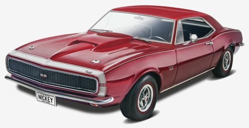 1/25 1967 NICKEY CAMERO RS/SS 427 (PLASTIC KIT)
