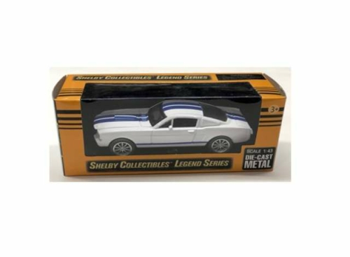 1/43 1965 SHELBY MUSTANG GT350 WHITE AND BLUE STRIPS